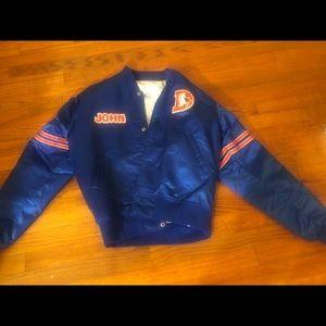 Vintage Denver Broncos Starter Jacket (John Elway)